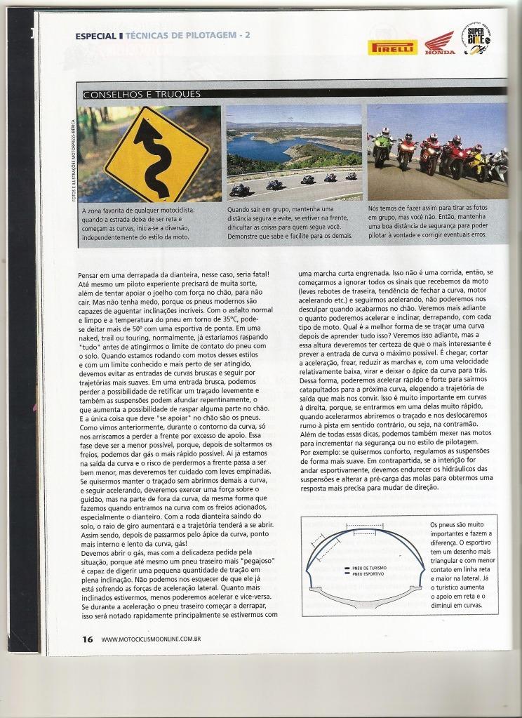 Pilotagem Ed especial Motociclismo, toda matéria. Digitalizar0016