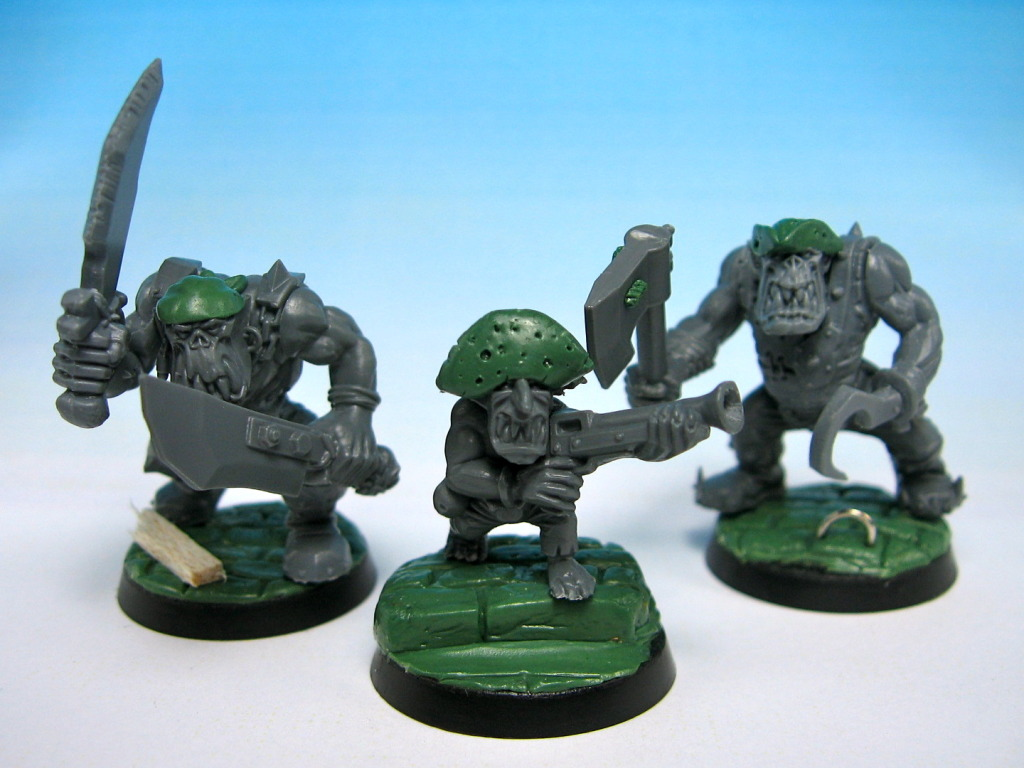 Narcissus' Pirate Orcs and Orks IMG_1545