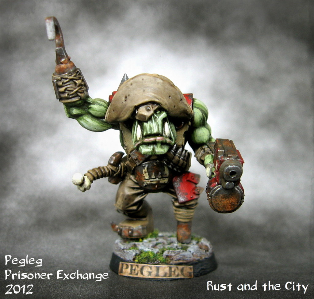 Narcissus' Pirate Orcs and Orks PeglegEdit