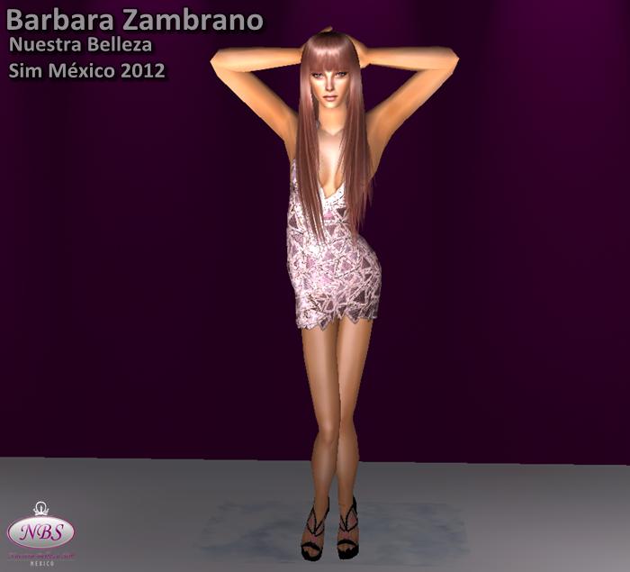 Miss Sim Universe México 2012 (Barbara Zambrano) Sims2012517-14132