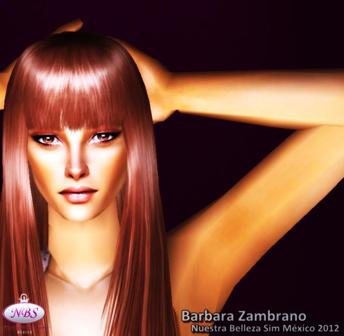 Miss Sim Universe México 2012 (Barbara Zambrano) Sims2012517-14145
