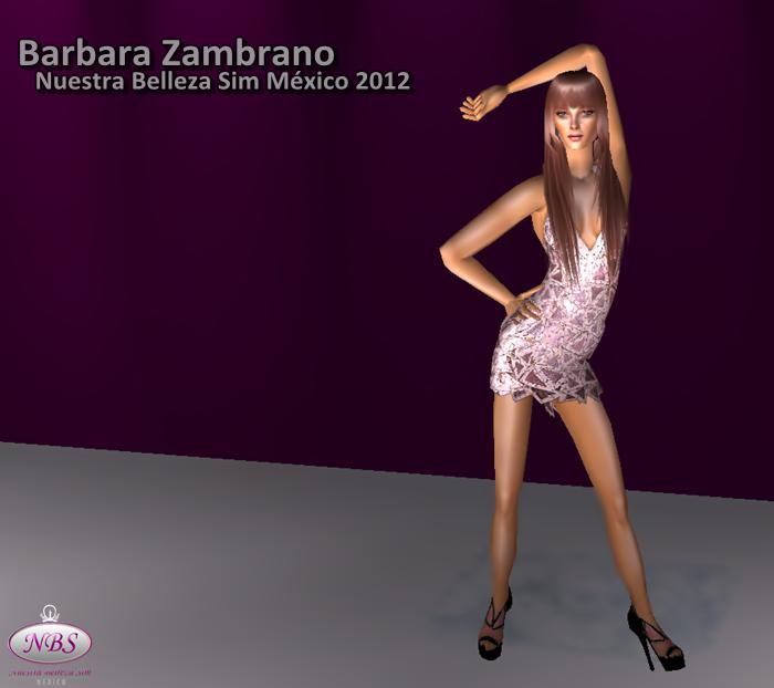 Miss Sim Universe México 2012 (Barbara Zambrano) Sims2012517-14256