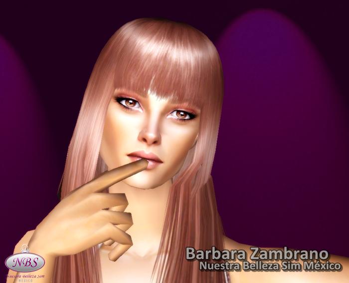 Miss Sim Universe México 2012 (Barbara Zambrano) Sims2012517-14335
