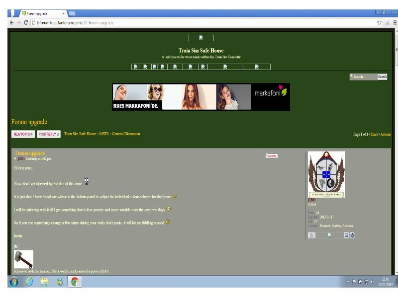 Forum upgrade ForumHeader
