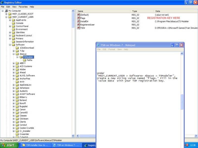 Installing Train Sim Modeller on Windows 7 64 bit. AStage1