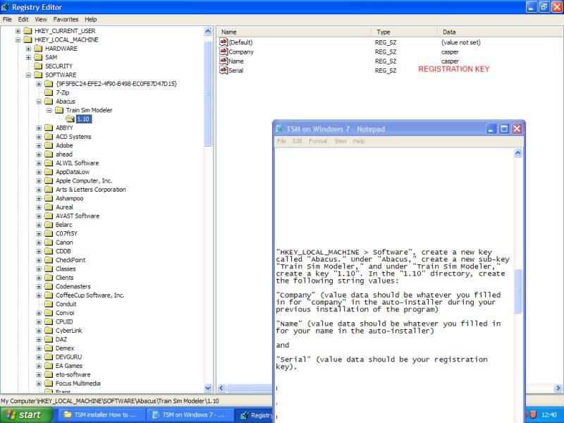 Installing Train Sim Modeller on Windows 7 64 bit. CStage2