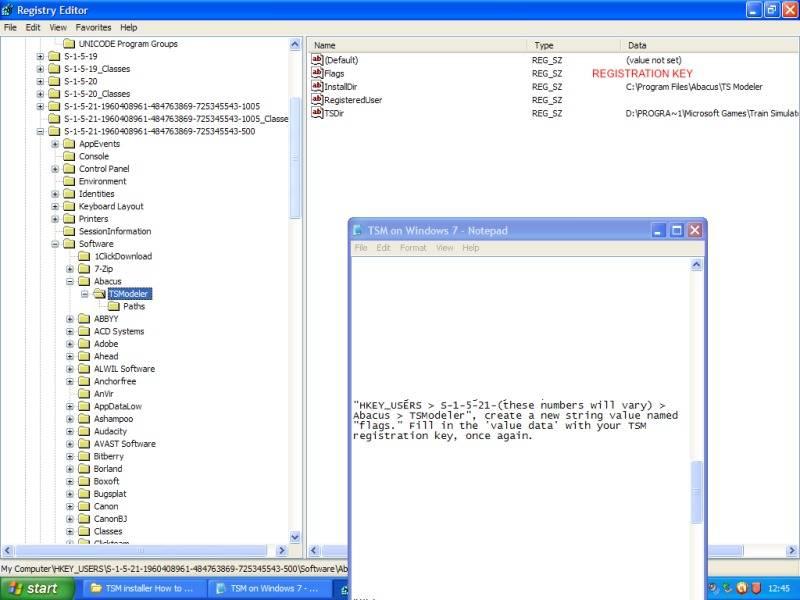 Installing Train Sim Modeller on Windows 7 64 bit. Estage3