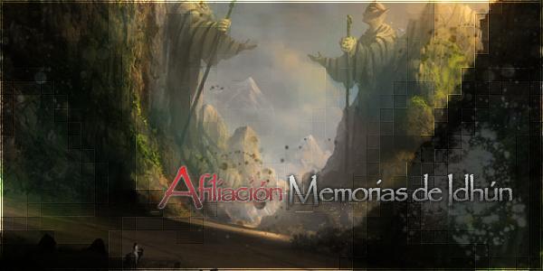 Memorias de Idhún (Confirmación) Banner
