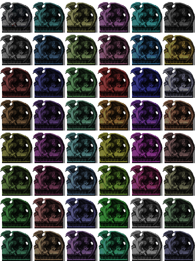 Skye's VX Recolours DarkDragonStatue_bySkye