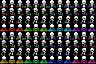 Skye's VX Recolours Skeleton_bySkye