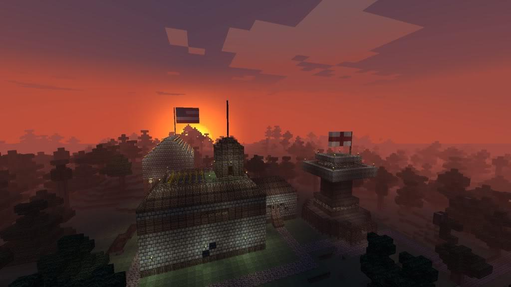 Minecraft Village.. thingy :P Javaw2011-09-1521-48-14-95