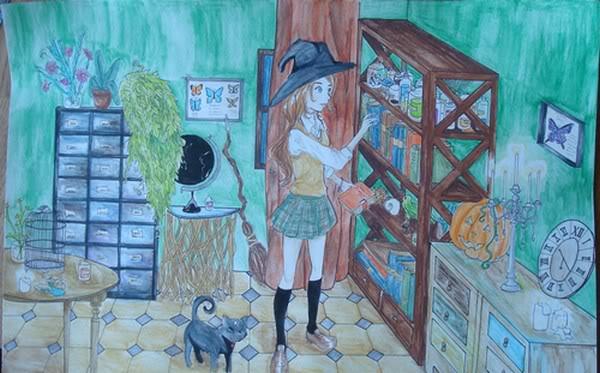 ☆ La gallerie de dessin de Hanna Banana ☆ DSC03555