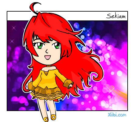 Haz a tu personaje un chibi Xiibi-Sekiam