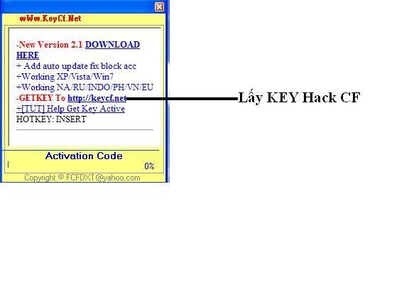 KeyCFModz 4.6 Hack one hit, headshot, xuyen tuong, speed mien phi 1095 Update 27/12/2  4