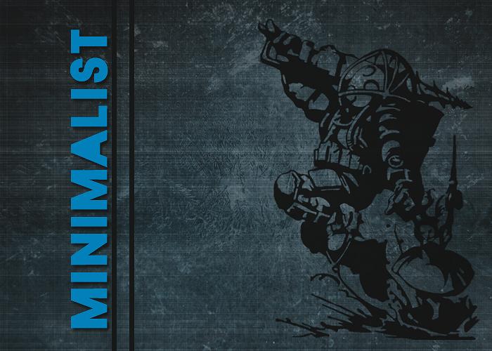 BioShock Minimalist Minimalistronda1