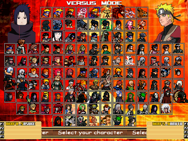 Game mugen naruto NKRF 2012 Edit  Mugen075