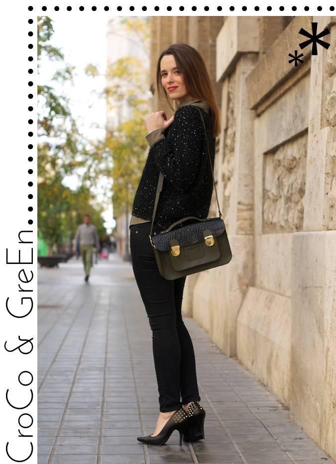 Looks diarios de bloggers y demás chicas que cuelgan en internet. - Página 17 0-street_style-looks-military_green-croco-satchel-studded-shoes-stillettos-macarena_gea