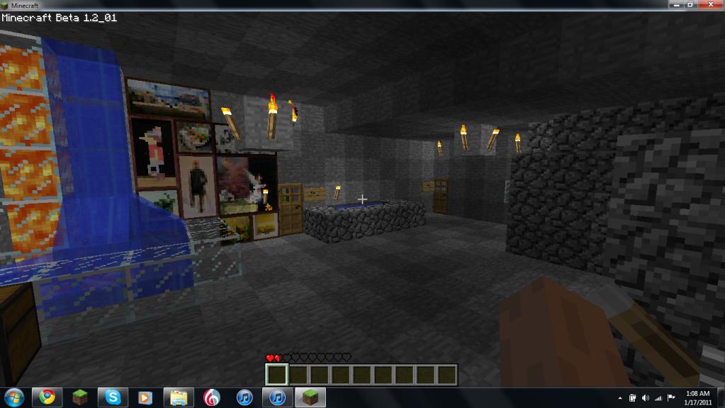 My Mineraft Fort Insidemyfort