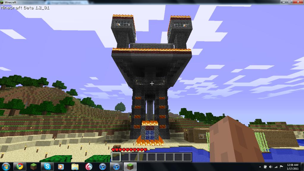 My Mineraft Fort Myfort