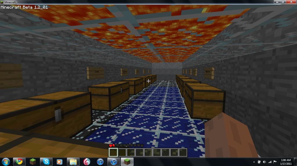My Mineraft Fort Storgeroomformyfort