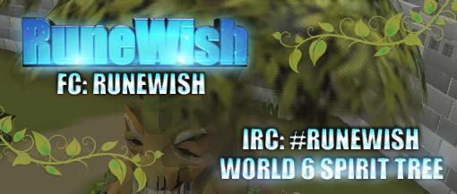 ♣ RuneWish Show Girl Advertisement System ♣ RuneWishSpiritTreeLogo