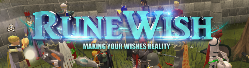Just hosted a 25M Drop party then a 4M giveaway. RuneWishbannerFinished