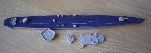 USS DD-537 The Sullivans, Trumpeter, 1/700 IMGP0002-5