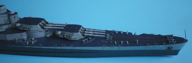 USS Washington (BB-56) , Trumpeter , 1/700 TERMINADO Fin1