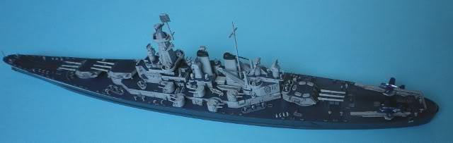 USS Washington (BB-56) , Trumpeter , 1/700 TERMINADO Fin10