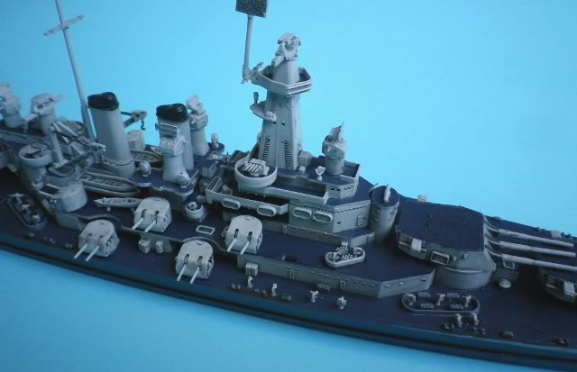USS Washington (BB-56) , Trumpeter , 1/700 TERMINADO Fin2