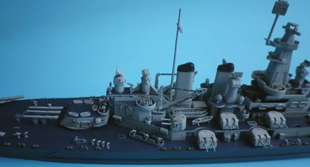 USS Washington (BB-56) , Trumpeter , 1/700 TERMINADO Fin3