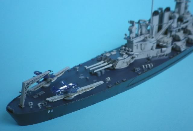 USS Washington (BB-56) , Trumpeter , 1/700 TERMINADO Fin4