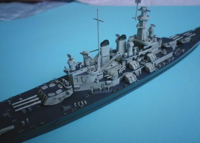 USS Washington (BB-56) , Trumpeter , 1/700 TERMINADO Fin5