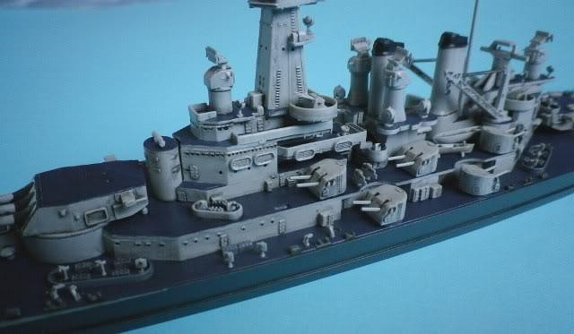 USS Washington (BB-56) , Trumpeter , 1/700 TERMINADO Fin7