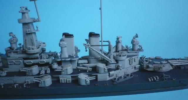 USS Washington (BB-56) , Trumpeter , 1/700 TERMINADO Fin8