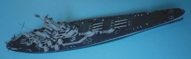 USS Washington (BB-56) , Trumpeter , 1/700 TERMINADO Fin9
