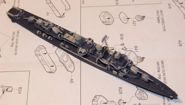 USS DD-537 The Sullivans, Trumpeter, 1/700 Fletchmont1