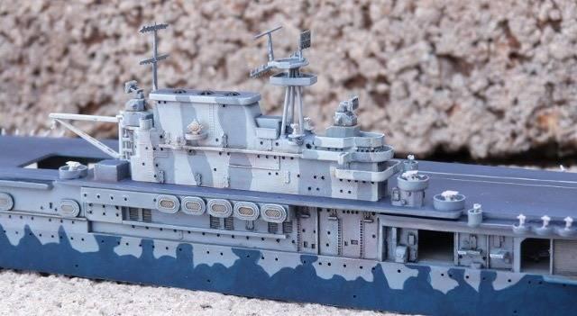 USS HORNET, CV-8, Trumpeter, 1/700 TERMINADO Hornfin7