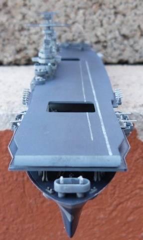 USS HORNET, CV-8, Trumpeter, 1/700 TERMINADO Hornfin8