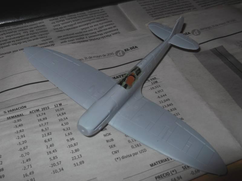 Supermarine Spitfire MkI, Airfix, 1/72 DSCF0003