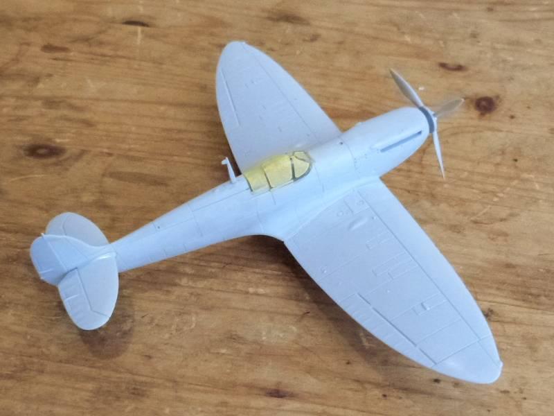 Supermarine Spitfire MkI, Airfix, 1/72 P1090474