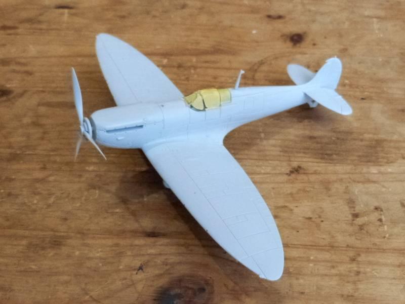 Supermarine Spitfire MkI, Airfix, 1/72 P1090475