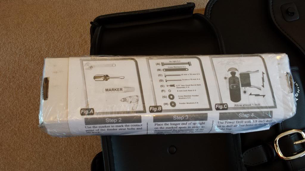 Viking Bags added ................................ to 2013 Suzuki M800 20140109_092221