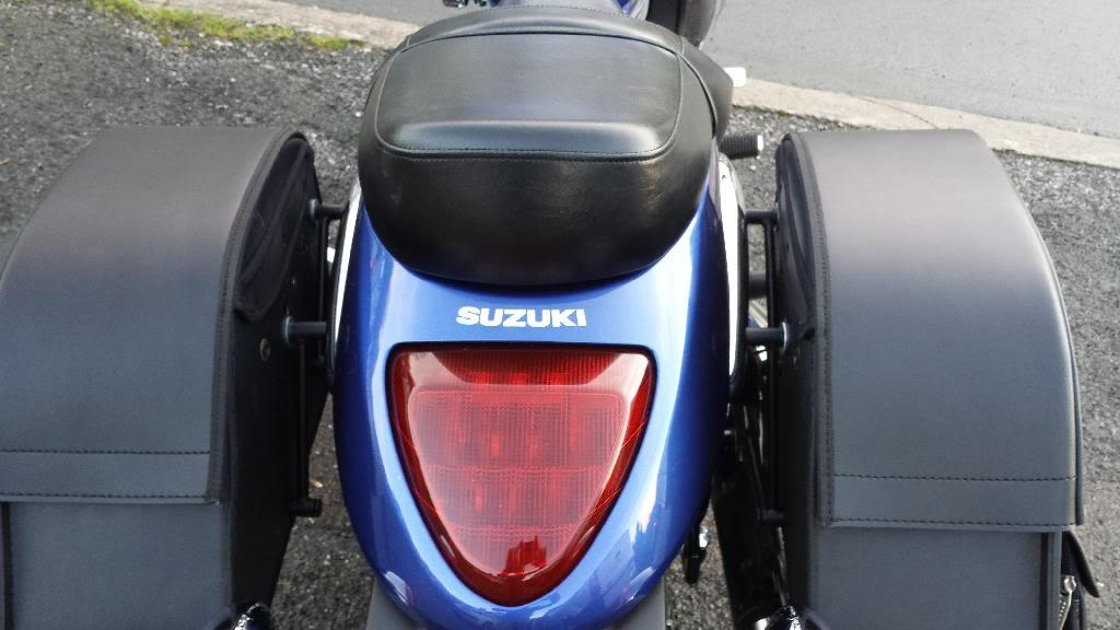 Viking Bags added ................................ to 2013 Suzuki M800 20140111_161657
