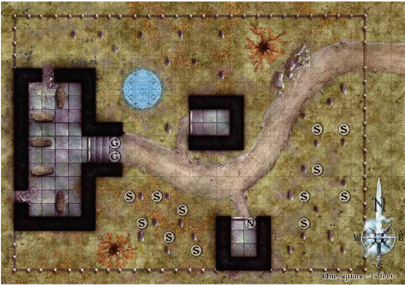 The Prophecy of Destruction - Page 9 Graveyard