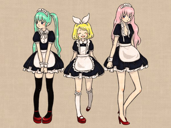 Coffee After Camp, o Maid Cafe do Off-Topic!! Vocaloid600374003