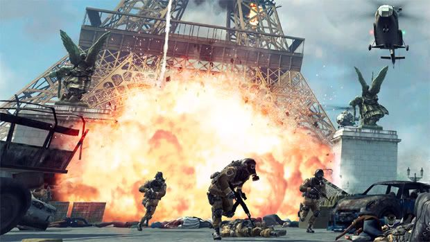 Imagem de Call of Duty: Modern Warfare 3 mostra alvo polêmico na França Callofduty3eiffeltower