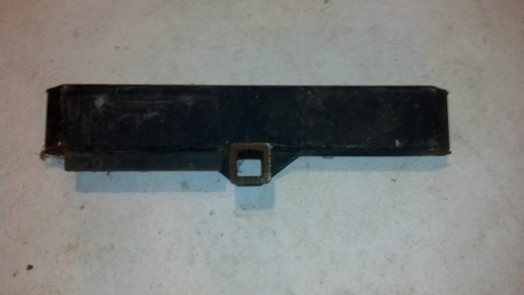 "SOLD- Front trailer hitch bumper witha 2"" receiver from TJ Rubicon $50.00  IMG_20130428_202246_985"