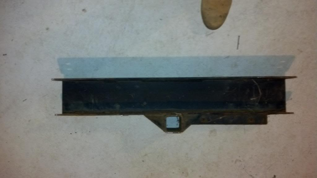 "SOLD- Front trailer hitch bumper witha 2"" receiver from TJ Rubicon $50.00  IMG_20130428_202352_517"