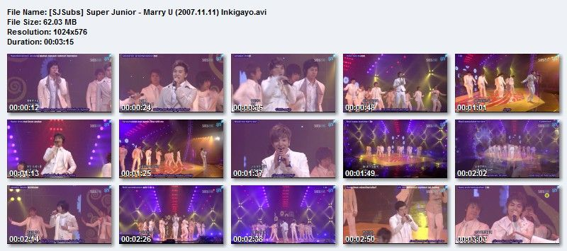 Super Junior - Marry U SJSubsSuperJunior-MarryU20071111Inkigayo_zps2847933e